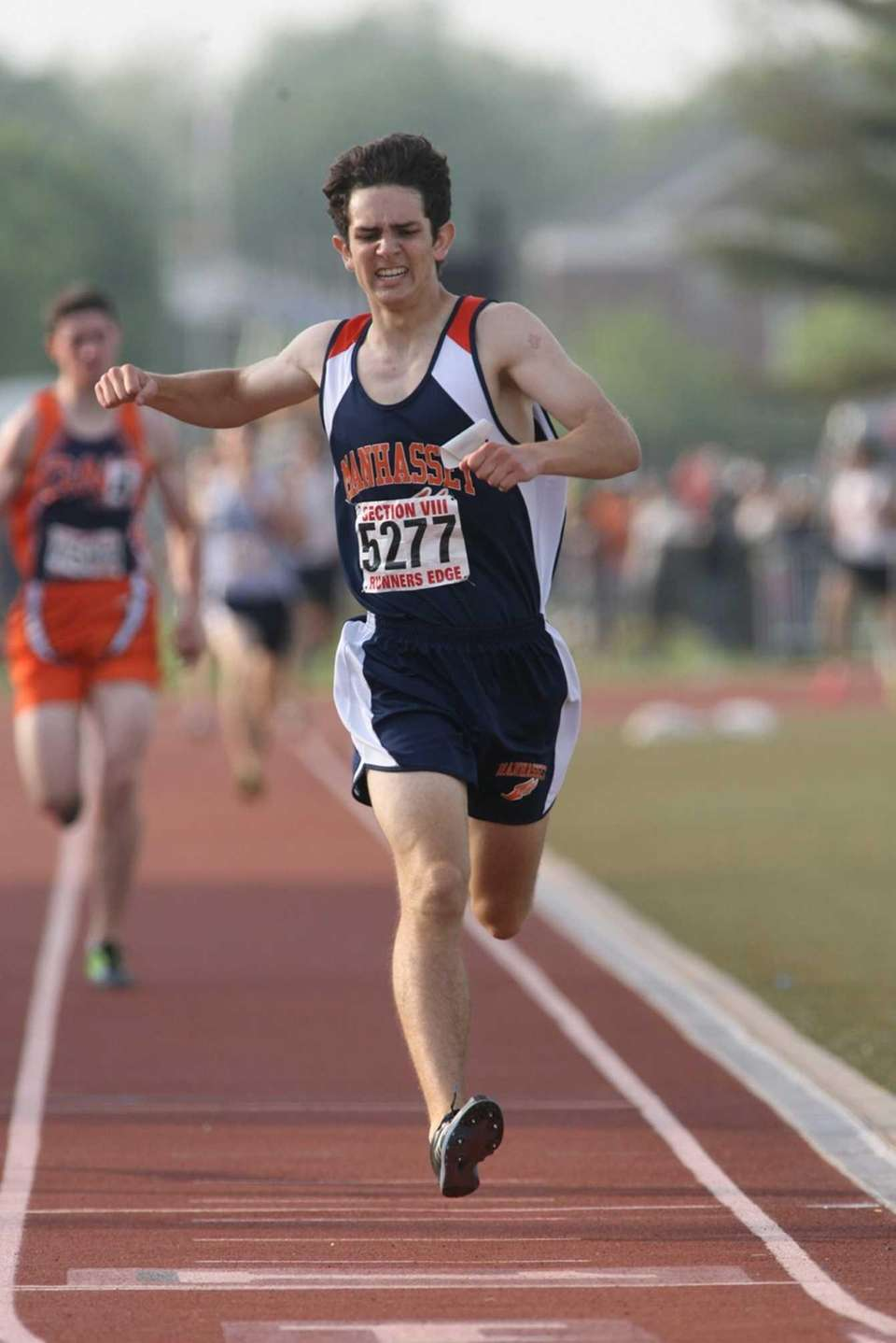 Manhasset's Stephen Bourguet wins the boys' class II-A