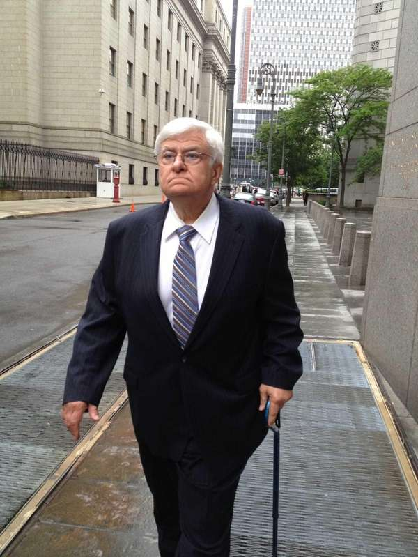 Dr. Peter Ajemian leaves federal court after his