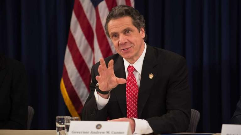 In this file photo, Governor Andrew M. Cuomo