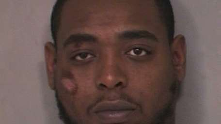 Robert Robinson, 26, of Inwood, faces two counts