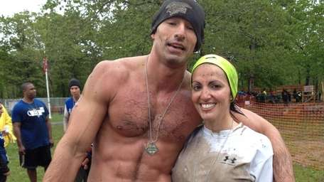 Chris D'Amico, 31, of Centereach, and his girlfriend