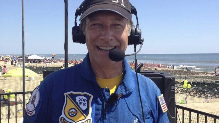 Air show announcer Rob Reider.