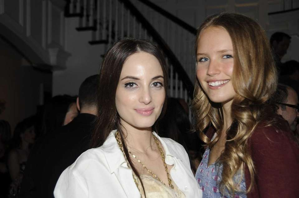 Alexa Ray Joel and Sailor Brinkley Cook at