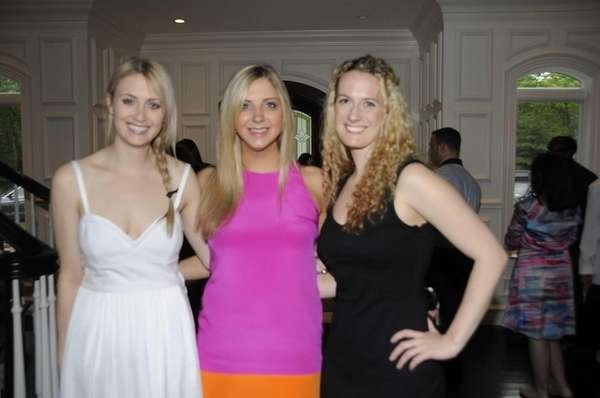 Rachel Lenchner, Laura Tomana and Elizabeth Butlin attend
