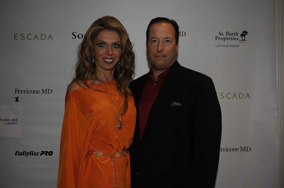 Dr. Julie Miller and Dr. Andrew Miller attend