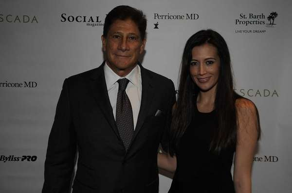 Dr. Nicholas Perricone and Dr. Maria LaRosa attend