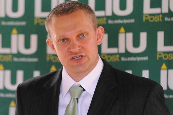 Newly-announced LIU Post men's basketball head Erik Smiles