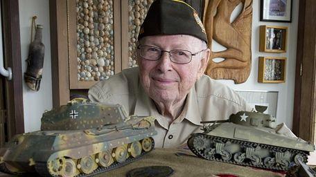 WW II Vet Eli Gordon at his Atlantic