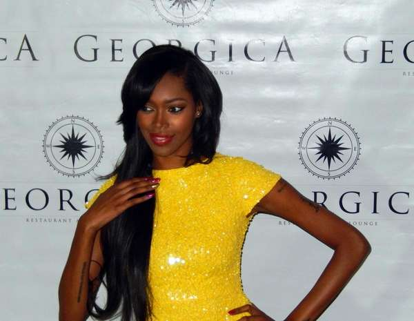 Celebrity model Jessica White, at the fourth annual