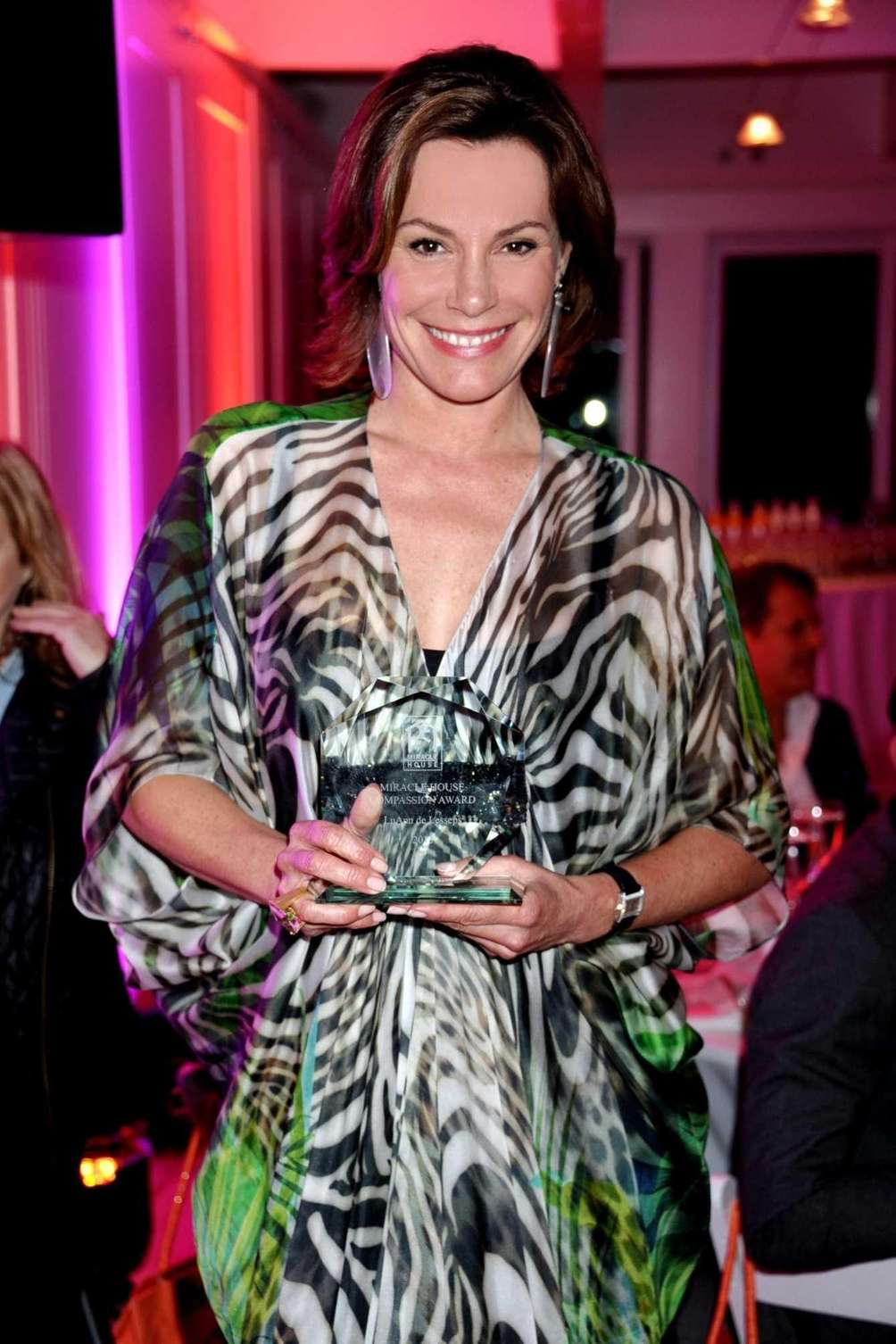 Countess LuAnn de Lesseps was honored at the