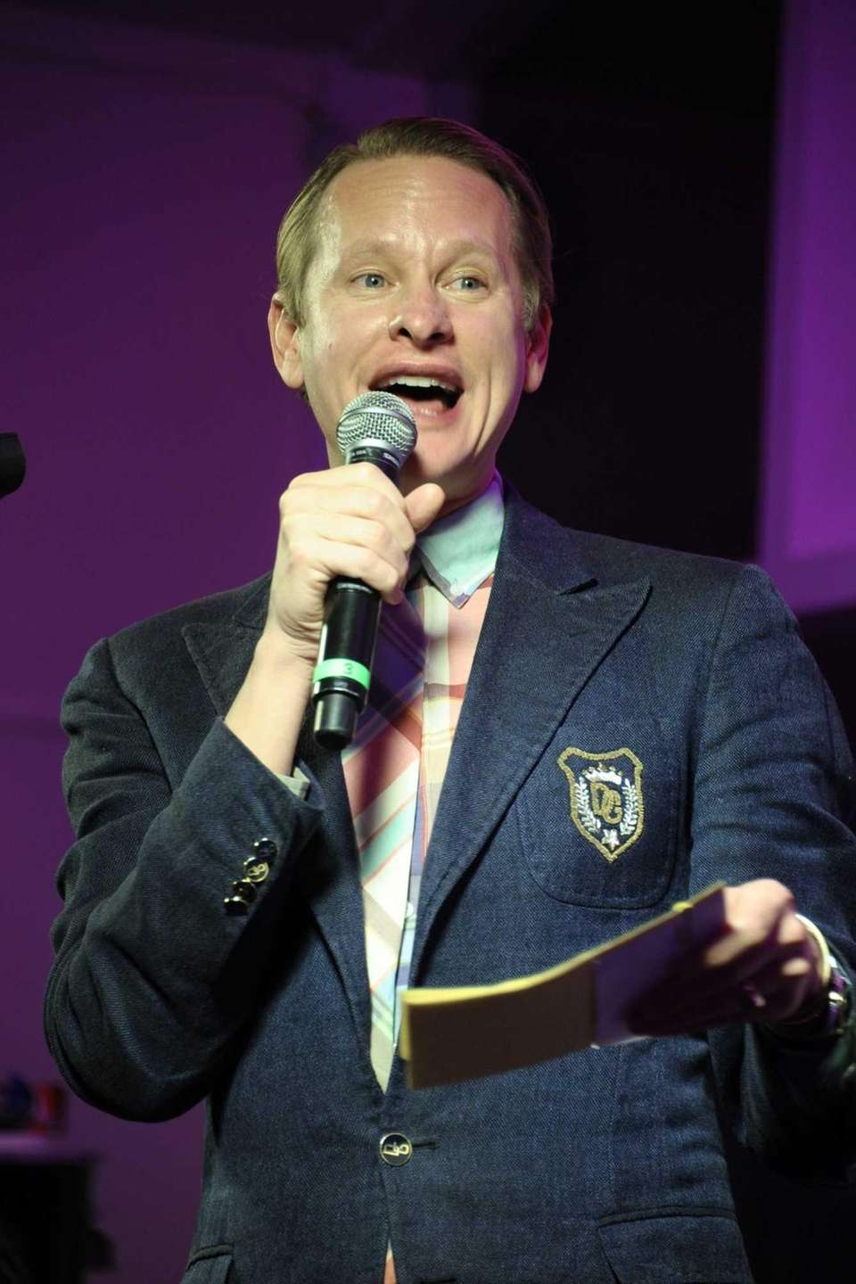 Carson Kressley was the MC at the Miracle