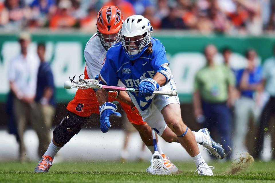 Brendan Fowler #3 of the Duke University Blue