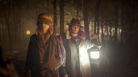 """Brit Marling, left, and Shiloh Fernandez in """"The"""
