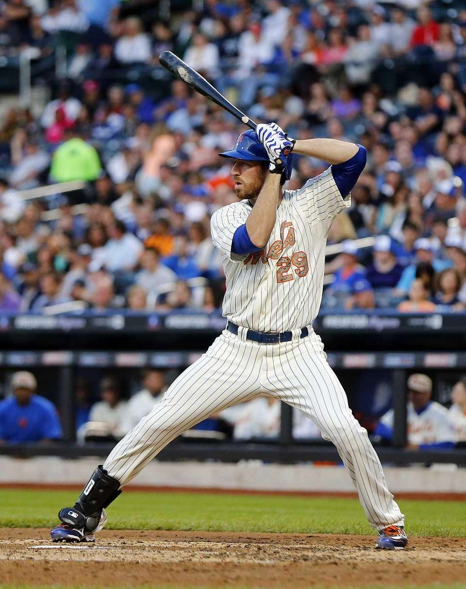 Ike Davis bats in the second inning of