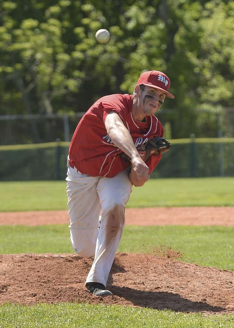 Miller Place's Cody McPartland pitched a complete game