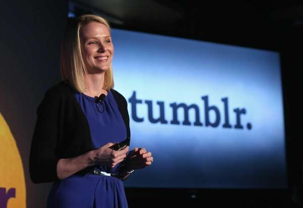 Yahoo CEO Marissa Mayer speaks about the company's