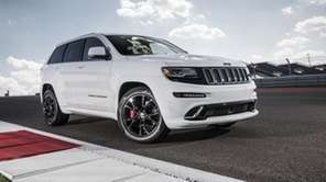 The 2014 Jeep Grand Cherokee SRTs floodgate of