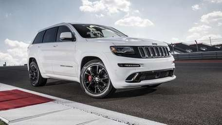 The 2014 Jeep Grand Cherokee SRT's floodgate of