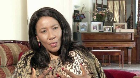 Former South African President Nelson Mandela's daughter Makaziwe
