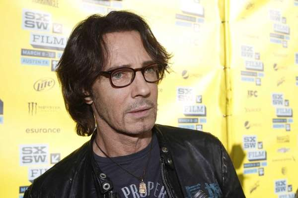 Rick Springfield at a screening of his movie
