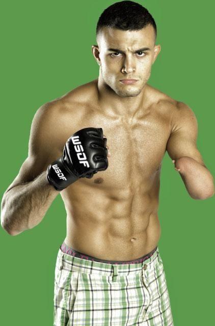 WSOF lightweight Nick Newell.
