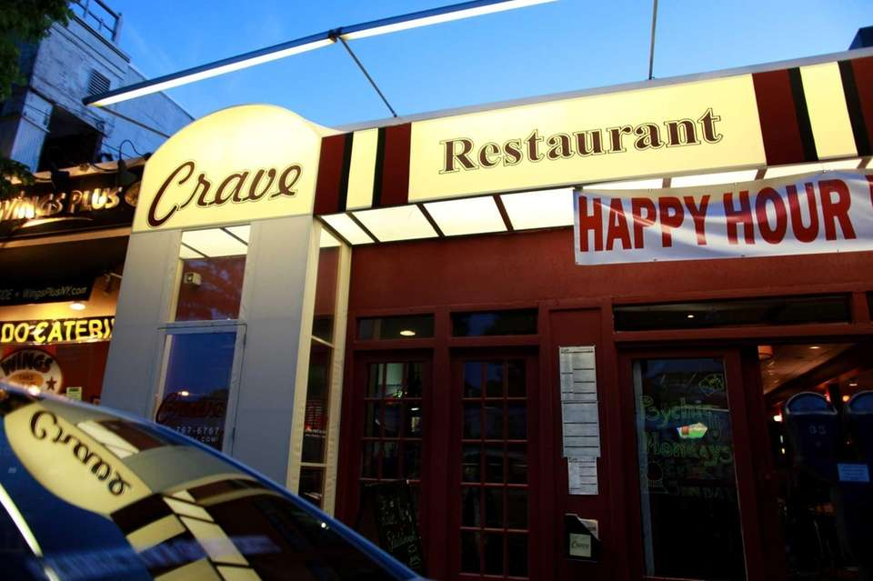 Crave Restaurant and Bar, located on Haven Avenue