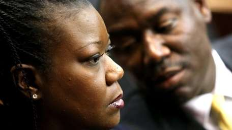 Sybrina Fulton, left, the mother of shooting victim