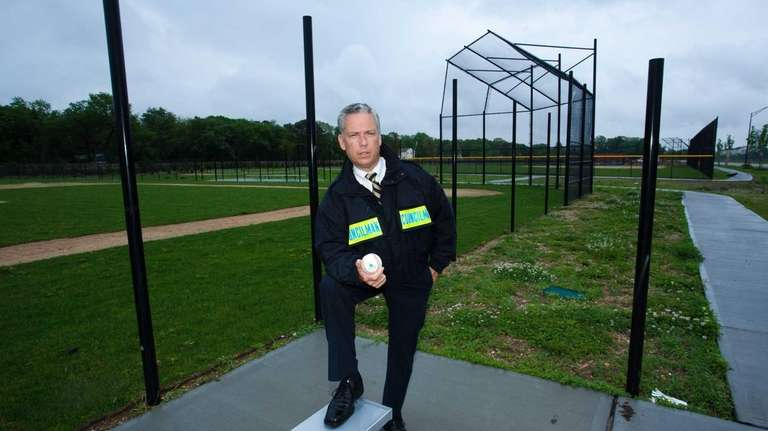 Steven J. Flotteron, Islip Town Councilman, poses at