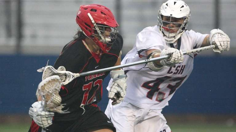Jake Gennosa of Cold Spring Harbor plays tight