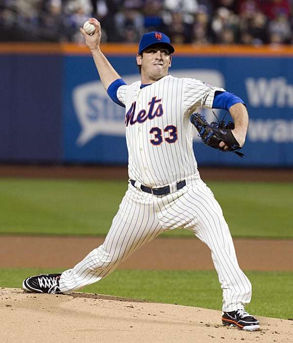 Mets' Matt Harvey pitches in the first inning