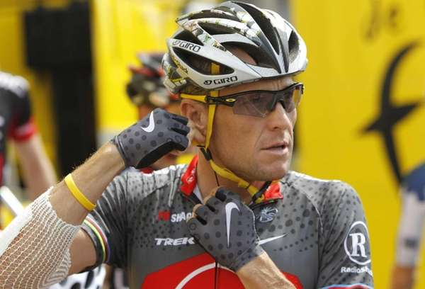 The Livestrong charity was founded by cyclist Lance