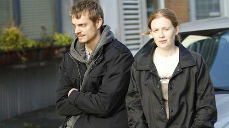 Joel Kinnaman as Detective Stephen Holder and Mireille