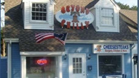 Beyond Philly in Blue Point features cheese steaks