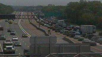 Police closed the eastbound Long Island Expressway between