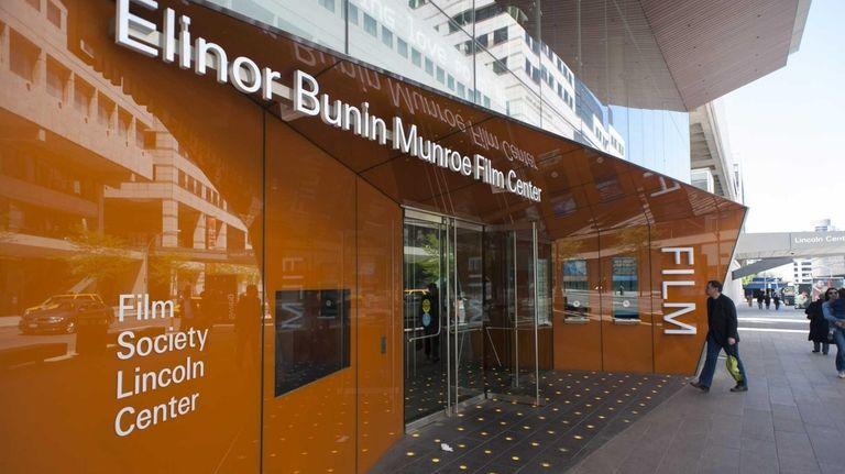 Elinor Bunin Munroe Film Center at Lincoln Center.