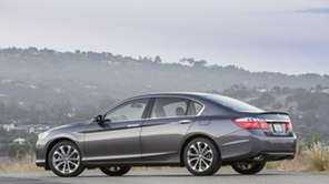 The 2013 Honda Accord was the top-selling car