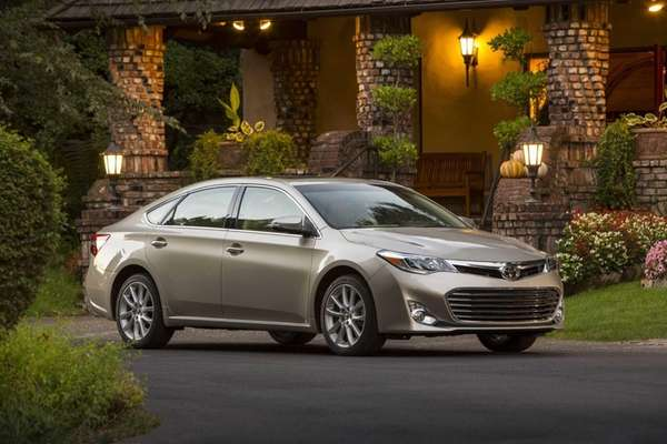 The 2013 Toyota Avalon has a new design
