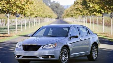 The 2013 Chrysler 200 is the last model