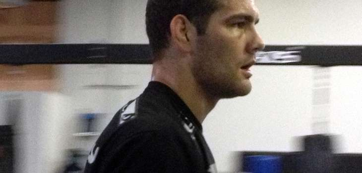 Chris Weidman at Ray Longo MMA during training