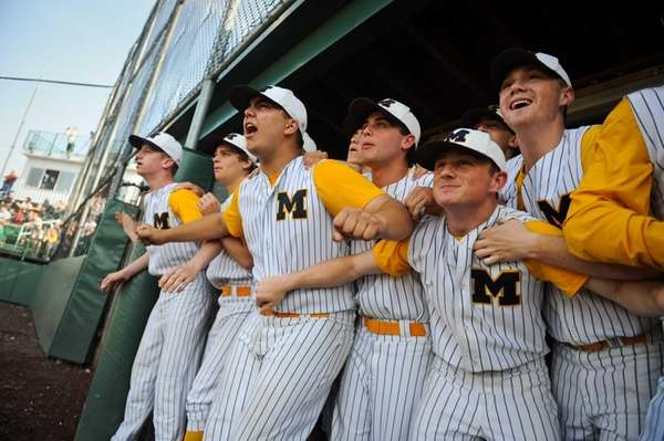The Massapequa Chiefs hold themselves back as they