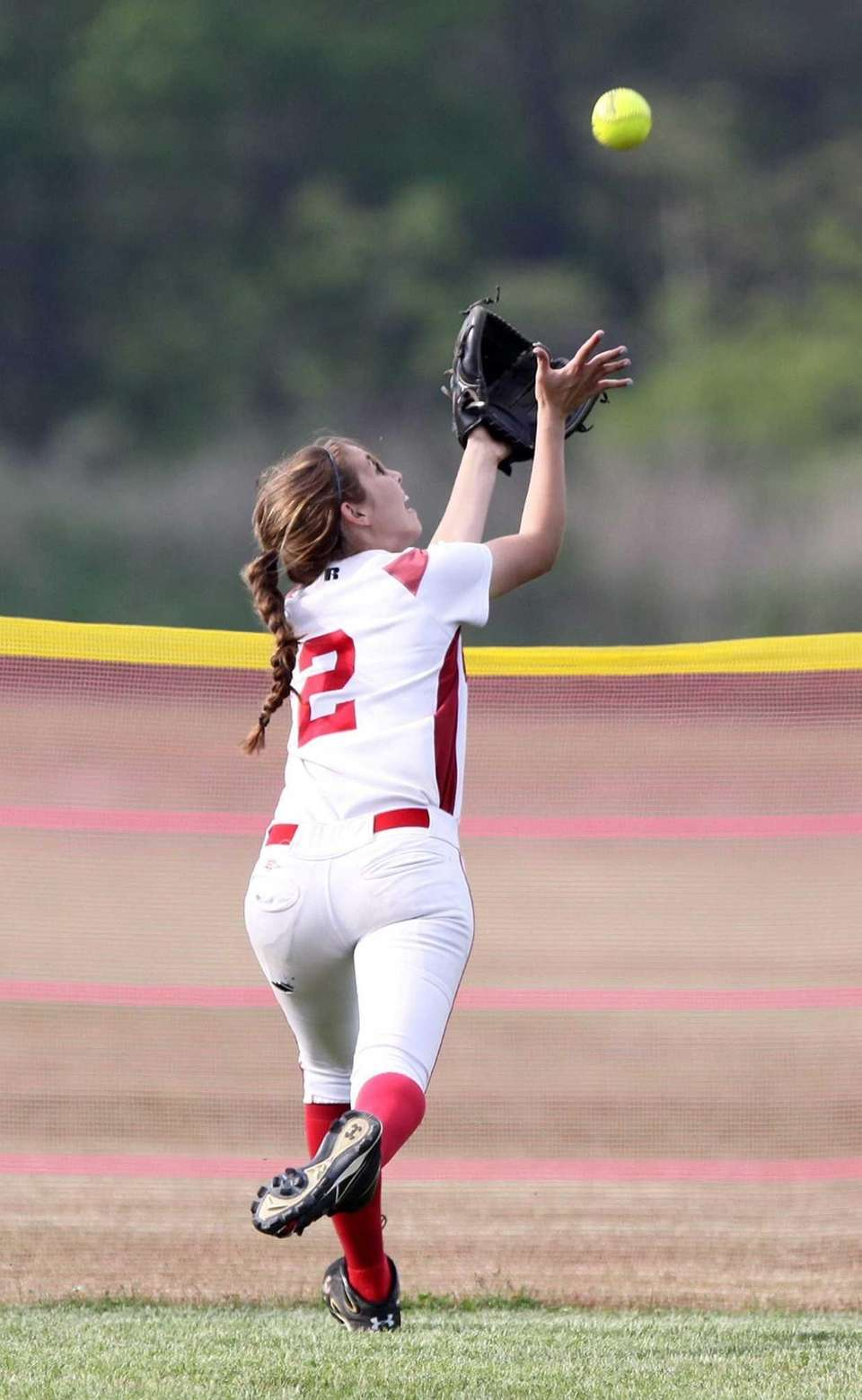 Center Moriches' Cierra Smith makes a potentially home-run