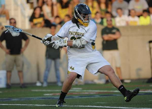 Ward Melville's Brendan Hegarty winds up to shoot