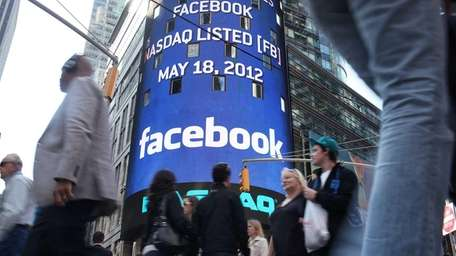 Facebook launched its initial public offering on May