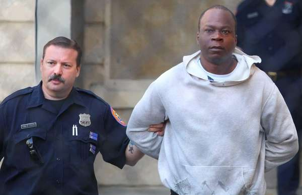 Christopher Evans, 28, was arrested in Brooklyn by