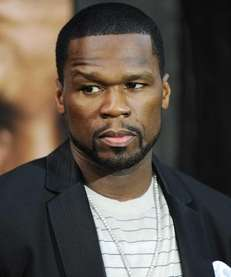 Rapper Curtis Jackson, aka 50 Cent, attends the