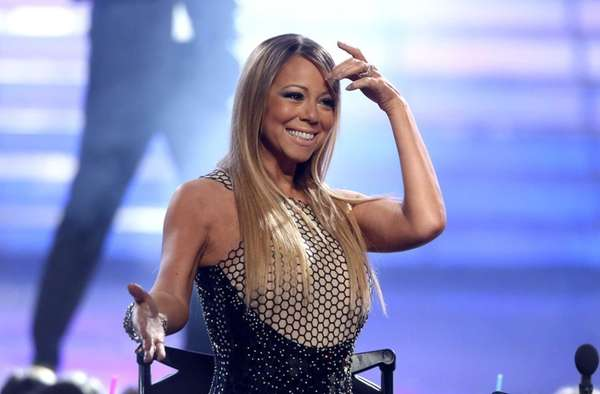 Mariah Carey at the quot;American Idolquot; finale in