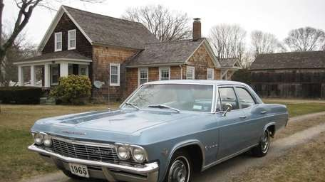 This 1965 Chevrolet Impala four-door sedan is owned
