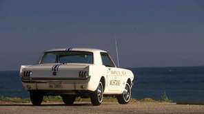 The 1965 Ford Mustang was used as the