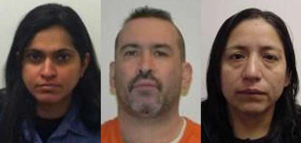 Three of the 12 suspects from Long Island