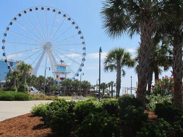 Plyler Park features the SkyWheel, the tallest Ferris